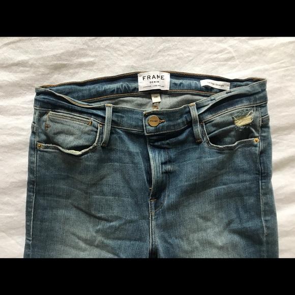 Frame Denim Denim - FRAME Le High Straight Cut Jeans - NEW size 29